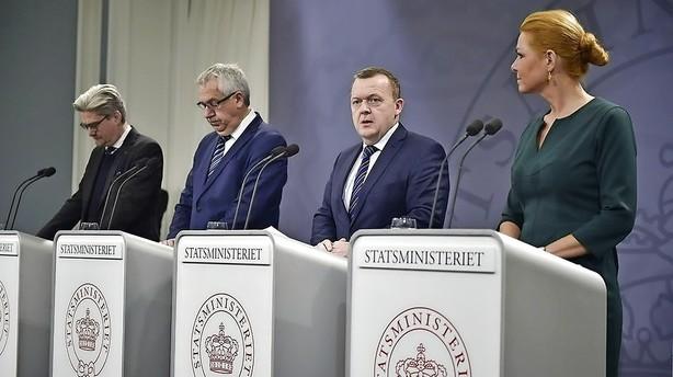 Løkke indfører grænsekontrol til Tyskland