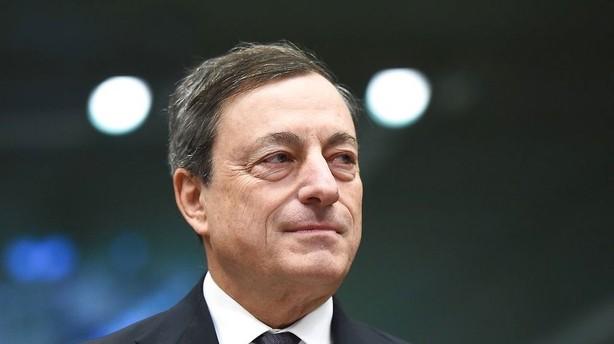 Draghi fastholder som ventet den ledende rente