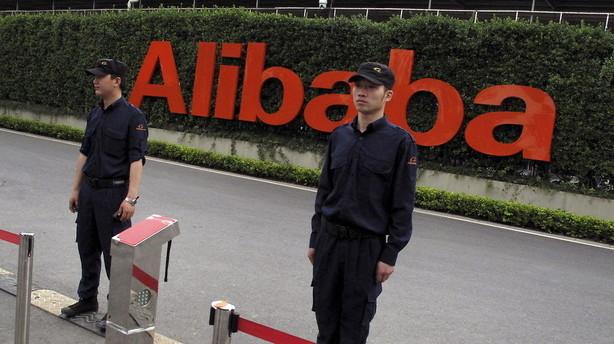 Alibaba overgår forventninger og aktien stiger i formarkedet