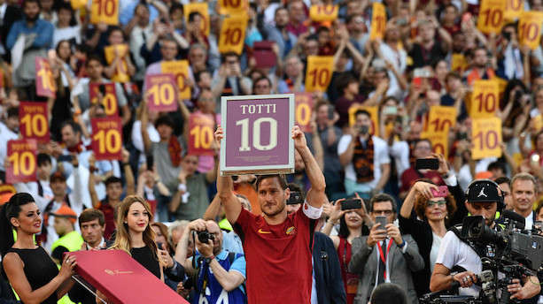 Klublegende fortsætter i Roma efter karrierestop