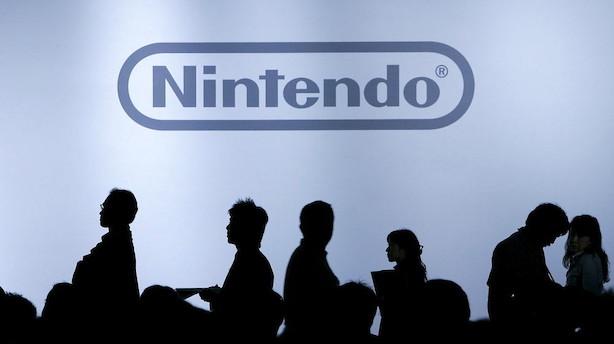 Nintendo løfter forventningerne til hele året efter stærkt kvartal