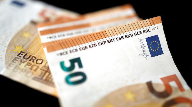 Valuta: Euro ligger lunt i svinget