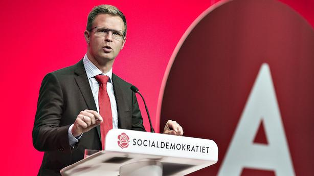 Efter Løkkes flirteri med bankunionen: S ønsker ikke dansk deltagelse nu