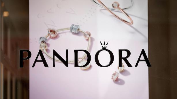 Fredagens aktier: Flagrende Pandora fløj højest i stigende C25