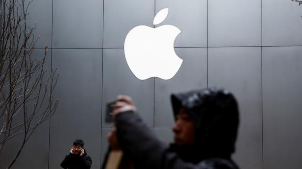 Apple stiger for femte dag i træk: Stemningen er helt vendt - kursen løftet næsten 30 pct. siden bunden lige efter  nytår