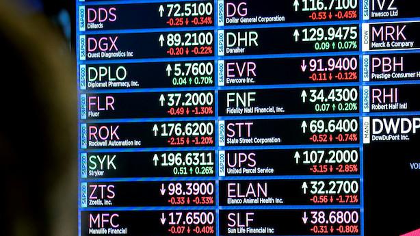 Aktier i Europa: Forsøger at distancere sig fra nedslående nøgletal