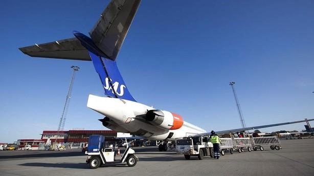 SAS trækkes ind i svensk pilotkonflikt