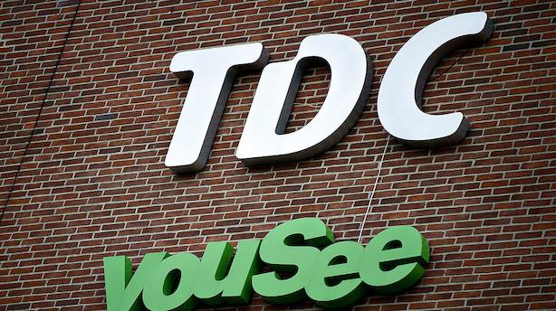 TDC: Storaktionær går under 5 pct. af kapital