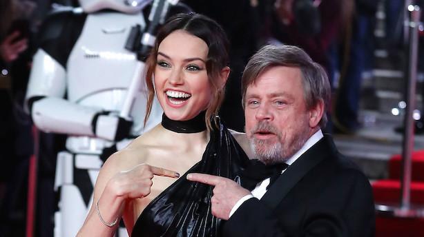 Star Wars-fest hos Disney: Indbringer 600 mio på første dag