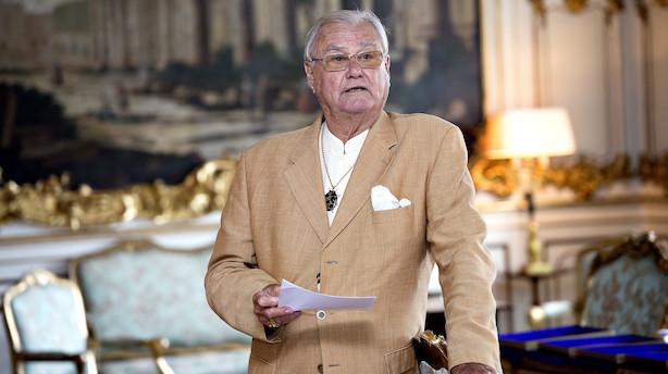 Prins Henrik er tirsdag blevet overført fra Rigshospitalet til Fredensborg Slot