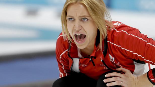 Curlingkvinder taber knebent til Storbritannien ved OL