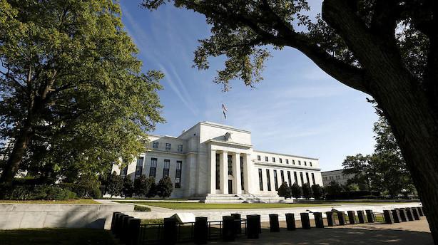 Det sker i dag: Rentemøde i Fed slutter