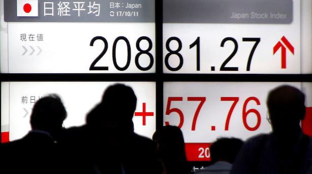 Asien: Positive markedsstemning fortsætter op til weekenden