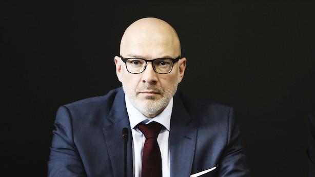 """Danske Bank-topchef efter sigtelse: """"Et naturligt skridt"""""""