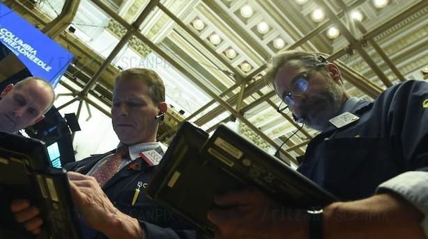 Aktier: Wall Street går i plus på kinesiske væksttiltag - brexit prellede af