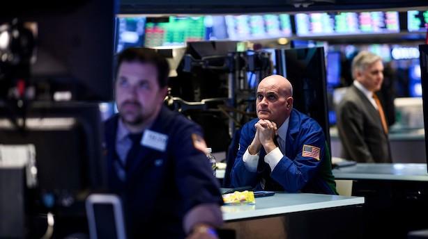 Aktier i USA: Minusser før rentemelding