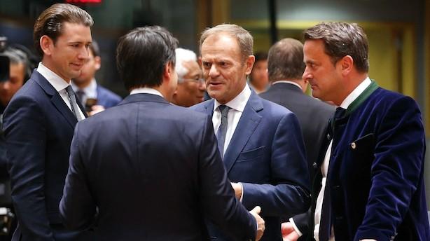 EU godkender: Udskyder brexit efter dramatisk topmøde
