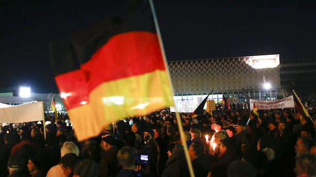 Tyskland: Eksporten overraskede med stigning
