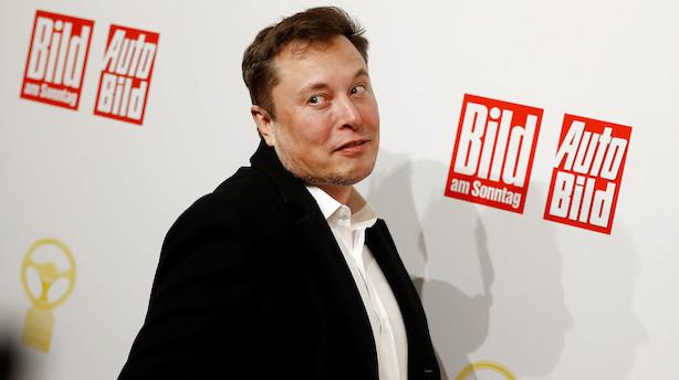 Tesla nærmer sig 100 mia. i markedsværdi og kæmpebonus til Musk