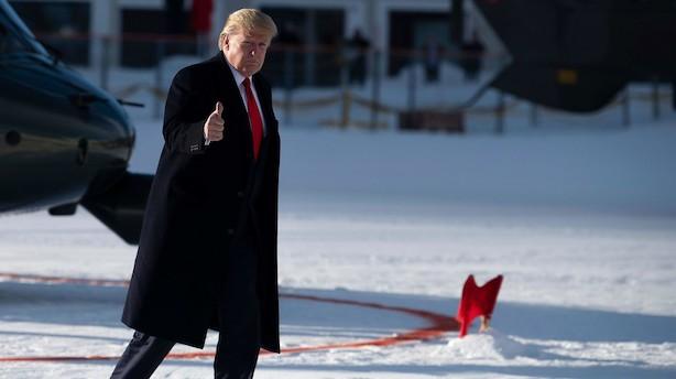Trump i Davos: Præsident Xi og jeg elsker hinanden