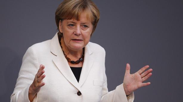 Merkel vil tale dunder mod jødehad