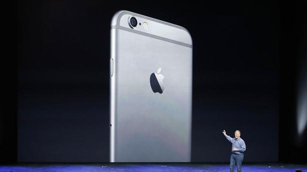 """""""Den nye Iphone er den bedste telefon på markedet"""""""