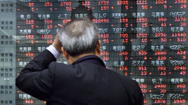 Aktier: Ganske massive kursfald overalt i Fjernøsten