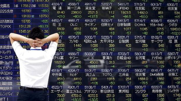 Aktier: Røde markeder i Asien på udsigt til Trump-sejr
