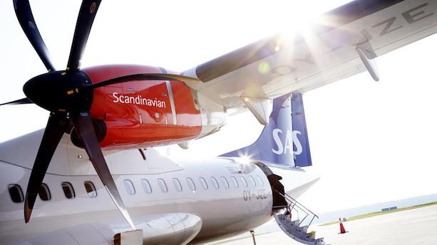 SAS havde kvaler med at fylde sine fly i oktober