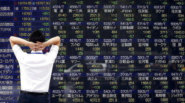 Aktier: Kursfald over hele linjen i Asien