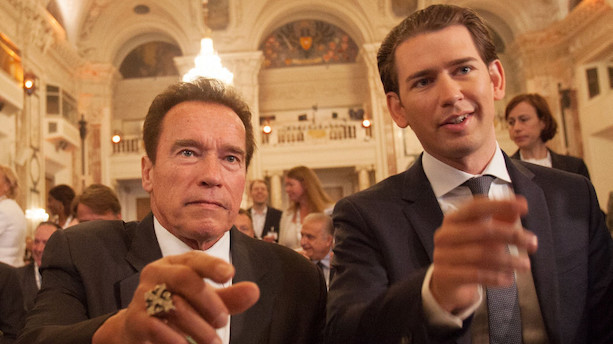 Løkke kalder Schwarzenegger for klimaets actionhelt