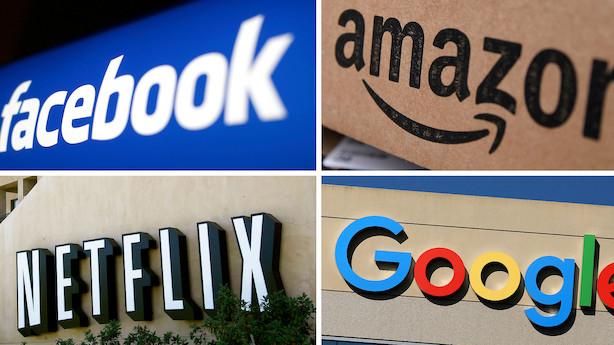 Værste dag i otte måneder på Wall Street: Tech-aktier får store tæsk