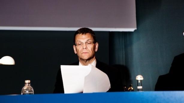 I dag stopper Ole Andersen efter syv år som formand i Danske Bank: Her er hans op- og nedture