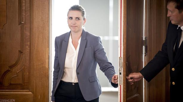 Mette Frederiksen efter forhandlinger: Der er store økonomiske uenigheder mellem De Radikale og Enhedslisten