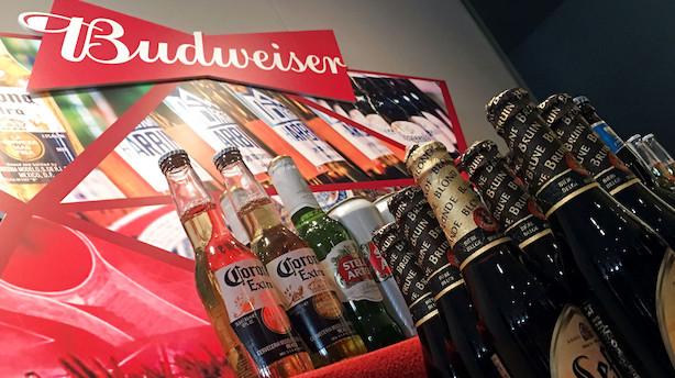AB Inbev dropper planer om børsnotering af Budweiser i Hongkong