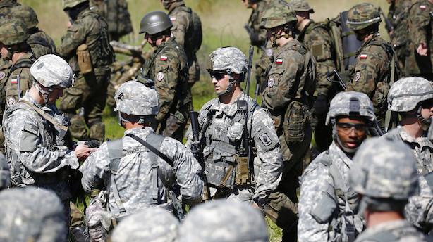 USA sender soldater til Saudi-Arabien for at øge sikkerheden