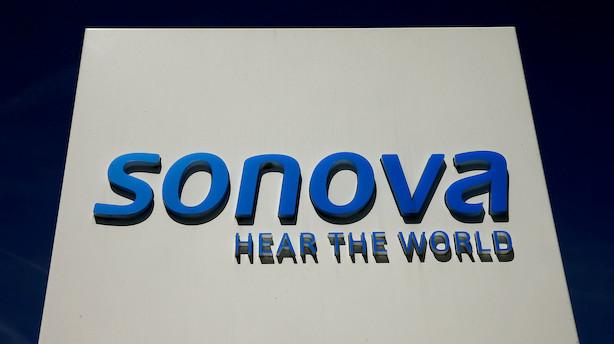Aktieluk i Europa: Sonova blev banket ned på rød aktiedag