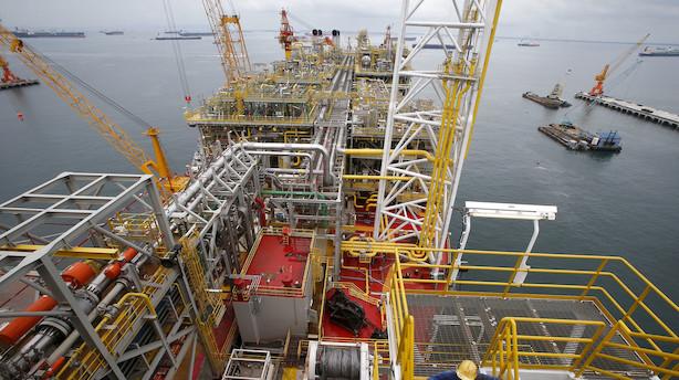 Aktieluk i Europa: Britisk olieselskab trodsede tunge fald
