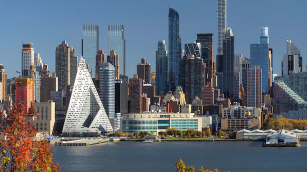 """Bjarke Ingels """"courtscraber"""" er verdens bedste skyskraber"""