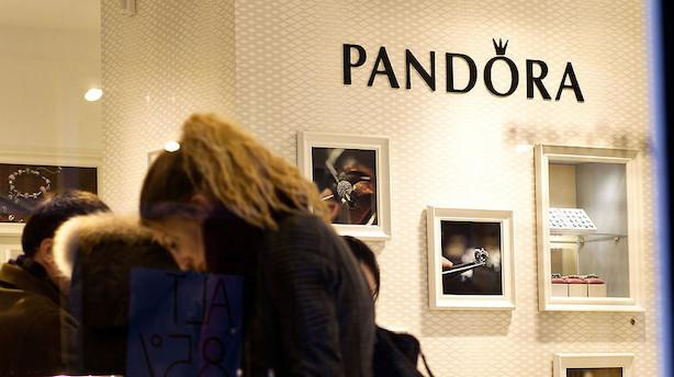 Onsdagens aktier: Pandora og Mærsk skubbede på lille C20-fald