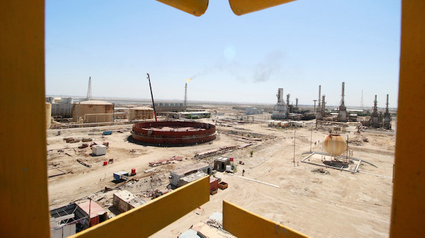 Irakisk olieministerium planlægger nyt raffinaderi