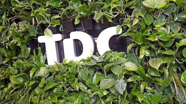 Aktie-status: Afventende marked med TDC i front