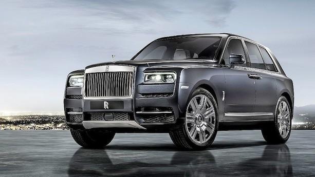 Rolls-Royce Cullinan bremser selv for zebraer og den slags