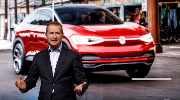 Volkswagen-boss kendte til snydesoftware måneder inden dieselskandale