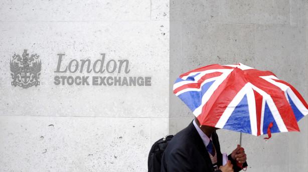 London trak op på nervøst europæisk marked