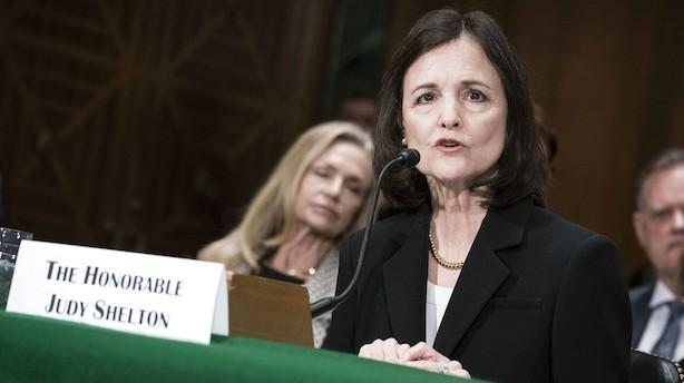 Trumps kandidat til ledigt job i den amerikanske centralbank i hård modvind – alligevel nævnes hun som mulig ny Fed-chef i 2022