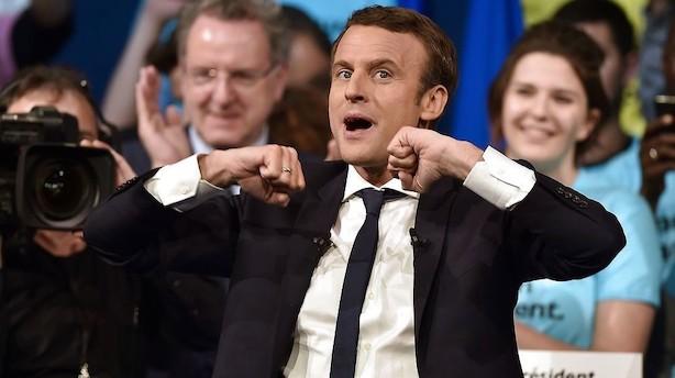 Europa: Franske aktier tog det største spring før valggyser