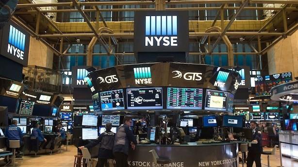 Amerikanske aktier i lille comeback efter skrækdag