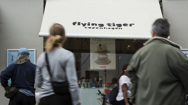 Medie: Svensk kapitalfond måske på vej til salg af Tiger-kæden