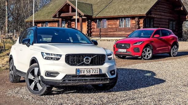 Volvo vs. Jaguar: Stil er in igen